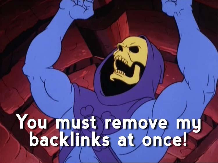skeletor meme backlinks