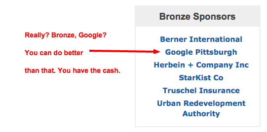 pittsburgh google paid link