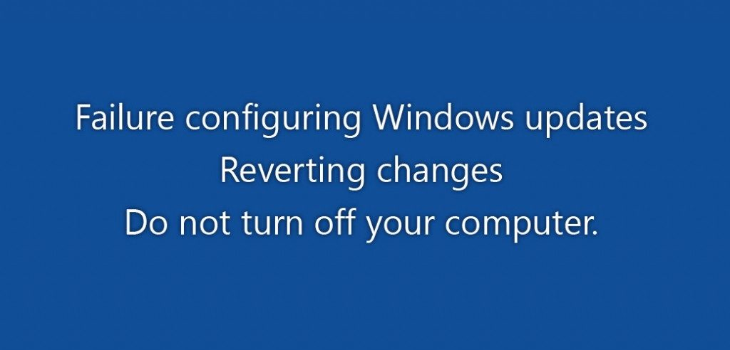 windows configure error
